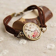 Lovely Imitation Watches Bracelet Leather Bracelets