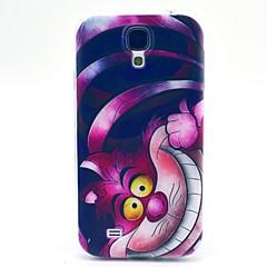 Samsung S4 I9500 - Baksida - Grafisk/Rutmönster/Tecknad Serie/Coola Skulls/Specialdesign - Samsung Mobiltelefon ( Multifärgad , TPU )