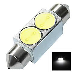 LED - Bil - Læselampe/Nummerpladelys Lampe ( Hvid , 6000K )