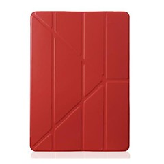 Solid Color Ultra Slim Translucent Leather Full Body Protect Case for iPad 2/3/4 (Assorted Colors)