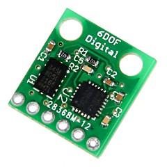 geeetech 6dof adxl345 og itg3205 digital combo bord