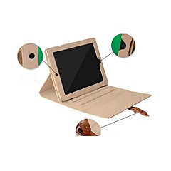 사과 iPad 3/iPad 4 - 특별 디자인 - 스마트 커버/봉투 케이스 ( PU 가죽 , 레드/블루/브라운/핑크/그레이 )
