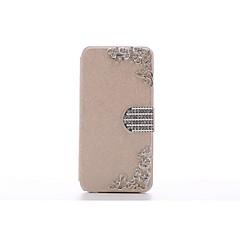 Design spécial/Style diamant - Coque avec Support - pour iPhone 5/iPhone 5S ( Noir/Blanc/Bleu/Rose/Doré , Cuir PU )