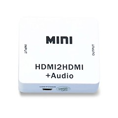1080p HDMI Audio Extractor Splitter HDMI 1.4 Digital to Analog 3.5mm Out Audio Adapter
