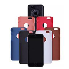 cuir stries pu Couverture arrière pour iPhone 4 / 4s (couleurs assorties)