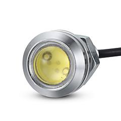 Merdia cob 6w führte 90lm 1SMD 18mm hawkeye Licht Rückfahrleuchten / Rückleuchten / dekorative Lichter (weiß / blaues Licht / 1 Stück)
