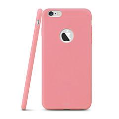 För iPhone 6-fodral iPhone 6 Plus-fodral Ultratunt fodral Skal fodral Enfärgat Mjukt TPU för iPhone 6s Plus/6 Plus iPhone 6s/6