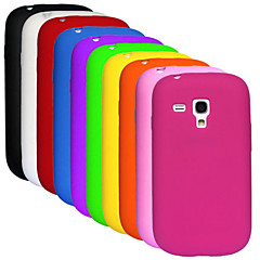 BIG D Silica Gel Soft Case for Samsung Galaxy S3 Mini I8190(Assorted Colors)
