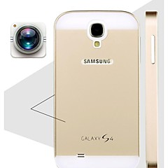 Special Design Solid Color Metal Back Cover and Bumper for Samsung Galaxy S4 I9500(Assorted Colors)