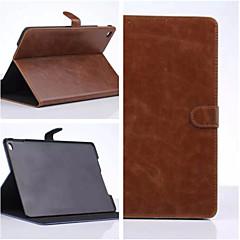 bussiness antikke solid farge pu skinn smarte deksler / folio tilfeller ipad 2/3/4 (assorterte farger)