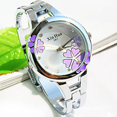 Women's New Round dial flower pattern Fashion Quartz Bracelet Watch Bangle Watch (Assorted Colors) Cool Watches Unique Watches