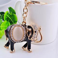 la chaîne de clé de l'éléphant