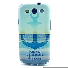 The Sea Anchor Pattern TPU Soft Case for S3 I9300