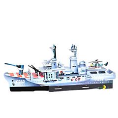 DIY fregat formet 3d puslespil