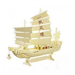 Sailing Model Educational DIY Wooden Toys
