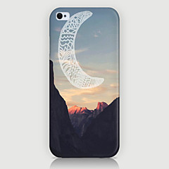 Mountain Peak Pattern Back Case for iPhone5/5s