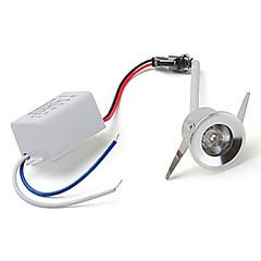 1W Upotetut valaisimet Upotettu jälkiasennus 1 Teho-LED lm Punainen / Sininen / Keltainen / Vihreä AC 85-265 V 1 kpl