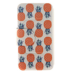 Kinston® Pineapple Pattern Full Body PU Cover with Stand for Samsung Galaxy Note 2/Note 3/Note 4/Note 5/Note 5 Edge