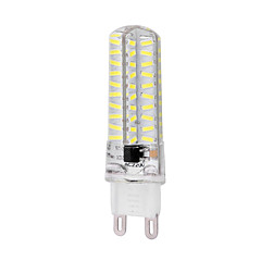 Dimmable G9 8W 80x4014SMD 720LM 6000-6500K Natural  White  Light LED Corn Bulb (AC 220-240V)