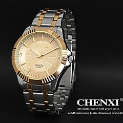 CHENXI® Men's Elegant Design Dress Watch Japanese Quartz Water Resistant Steel Strap