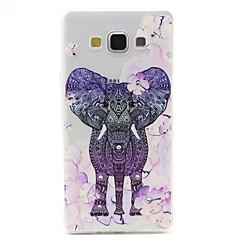 Για Samsung Galaxy Θήκη Διαφανής / Με σχέδια tok Πίσω Κάλυμμα tok Ελέφαντας TPU Samsung A7