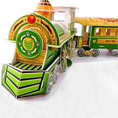 DIY Train Shaped 3D Puzzle (8 PS)