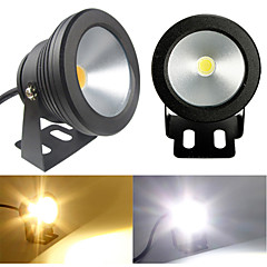 Black Waterproof 10W 900Lm 2700-6300K Warm White/Cold White light Underwater Landscape Fountain Pond Lamp (AC85-265V)