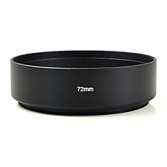 MENGS® 72mm Aluminum Standard Lens Hood For Canon Nikon Sony Olympus Etc All Kinds of Digital Camera And DSLR.