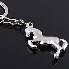 zinkové slitiny kůň ve tvaru přívěšek na klíče