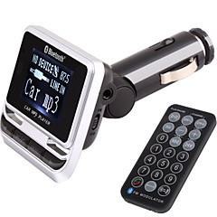FM Transmitter With Bluetooth Handsfree Car Kit/With Wireless Controller/Bluetooth 2.0/MP3 Play USB/TF Card