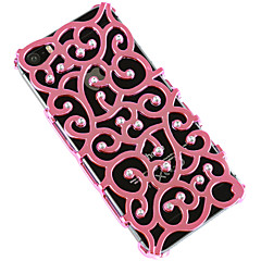 Plastic Rhinestone Design Cases  for iPhone 5/5S