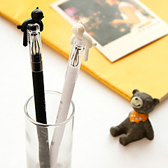 Cartoon Cat Lovers Neutral Pen(Random Color)