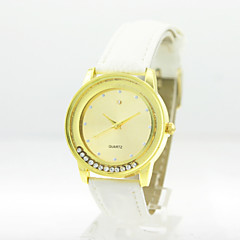 Women's Analog Alloy Case Round Dial PU Band Quartz Watch Women's Watch Women Fashion Watch Gift Watch