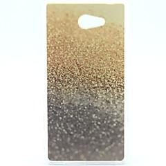 woestijn patroon zachte TPU hoesje voor Sony Xperia m2