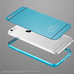 cas arrière de protection métallique et le cadre de pare-chocs résistant aux chocs pour iPhone 5 / 5s (couleurs assorties)