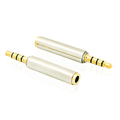 3.5 mm Audio Headphone Jack Stereo Plug Male to Female Adapter Converter