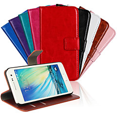 Horse Grain PU Leather Full Body Cover with Stand and Case for Samsung Galaxy A3 (Assorted Colors)
