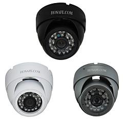 hosafe ™ 960P 1.3MP veiligheid waterdichte metal dome ip-camera met 24 ir geleide