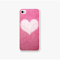 The Snowflake Love Pattern Pc Phone Case Back Cover Case for iPhone5/5