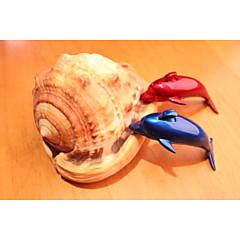 dauphins créatives modélisation allume-cigare classique bleu et rouge