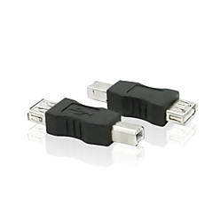 USB 2.0 Type A Female to USB 2.0 Type B Male Printer Wire Extension Adapter
