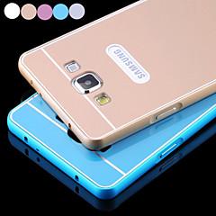 Mert Samsung Galaxy tok Galvanizálás Case Hátlap Case Egyszínű Akril Samsung A3