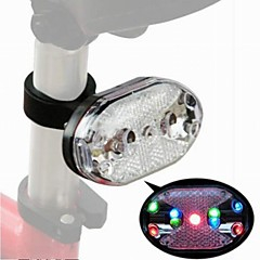 Mountain Bike Circular Laser Warning Led Tail Lights(Random Colour)