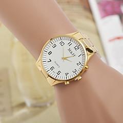 oro blanco relojes de los hombres relojes amarilla con la moda