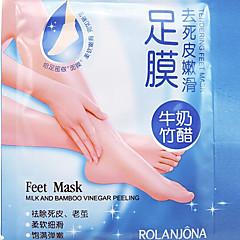 eksfolierende fod maske højeffektive døde hud neglebånd remover scholl sosu fod spa-produkter 1par