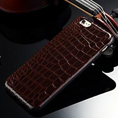 d grande crocodilo padrão caso de volta suave para iphone 5 / 5s (cores sortidas)