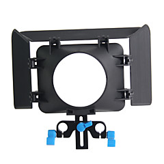 matte box m1 15 mm support de tige plate-forme rail 43mm vidéo 77 mm