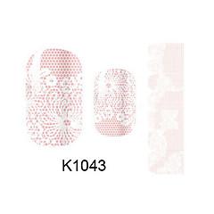 Nagelkunst sticker Cartoon make-up Cosmetische Nagelkunst ontwerp
