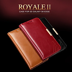 KALAIDENG Royale II Series Imported South Africa Cow Leather Protection Case for Galaxy S6 edge
