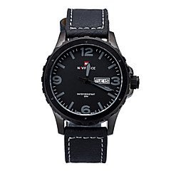 Brand Watch 2015 Men Business Wristwatches High Quality Leather Band for Man Watch with 5 colors
